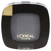 L'oreal eyeshadow Single Color (Colour) Riche 209 Noir Black Free Shipping - $4.99
