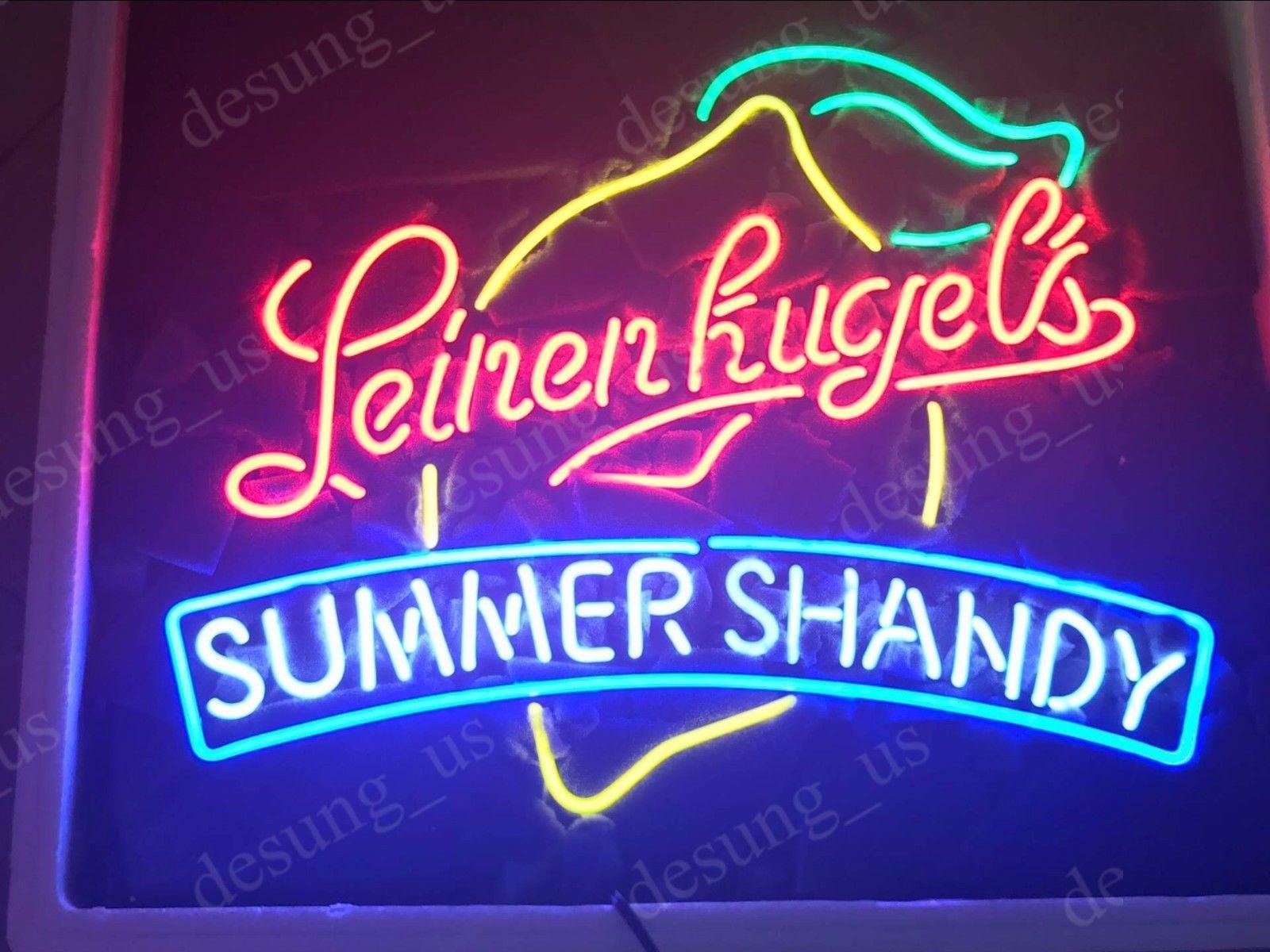"New Leinenkugel's wisconsin Brew Summer Shandy Neon Sign 24""x20"""