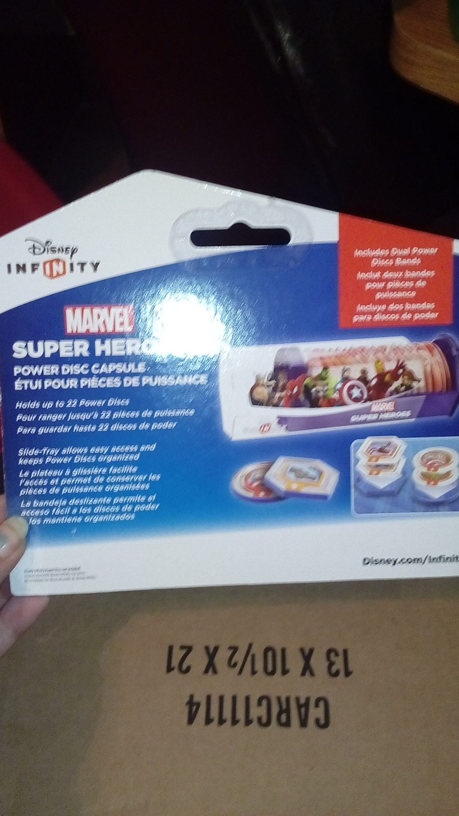 Disney infinity uper Heroes MARVEL power disc capsule RAS1193
