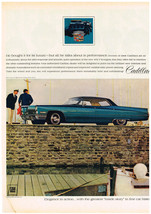 Vintage 1968 Magazine Ad for Cadillac Elegance in Action Responsive & Smooth - $5.93