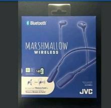NEW OPEN BOX JVC HA-FX39BT-A MARSHMALLOW WIRELESS BLUETOOTH HEADPHONES, ... - £25.83 GBP