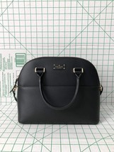NWT Kate Spade Grove Street Carli Black Leather Satchel Handbag Purse - ₨10,277.28 INR