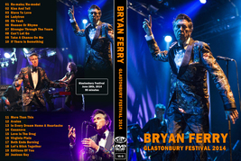 BRYAN FERRY - GLASTONBURY FESTIVAL 2014 DVD - $23.50