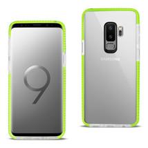 Reiko Samsung Galaxy S9 Plus Soft Transparent TPU Case In Clear Green - $8.54