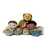 Lot of 8 Disney Tsum Tsum Plush  Disney Characters. Small Stuffed Animals  - $21.77