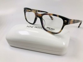 New Nine West NW5132 817 Peach & Blush Tortoise Eyeglasses 47mm with Case - $59.35