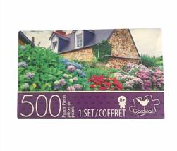 """500 Piece Jigsaw Puzzle Multicolor Colorful Hydrangeas 11"""" x 14"""" Cardina... - $11.17"""