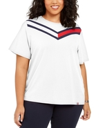 Tommy Hilfiger Sport Plus Size Colorblocked T-Shirt - $49.00