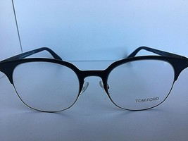 New Tom Ford TF 5347 TF5347 089 Black 51mm Clubmaster Eyeglasses Frame I... - $79.99