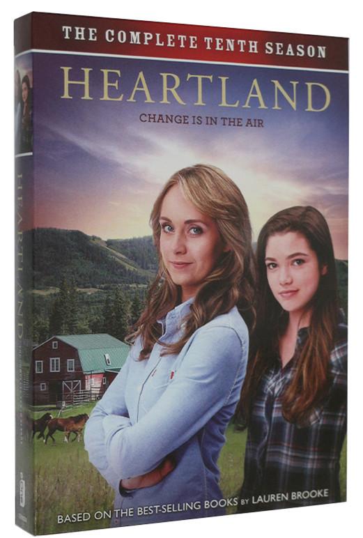 Heartland The Complete Season 10 Ten DVD 5 Dsic Box Set Free Shipping Brand New