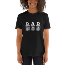 MENS GUITAR CHORD SHIRT / DAD SHIRT / DAD SHORT-SLEEVE UNISEX T-SHIRT image 2