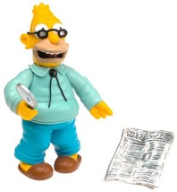 The Simpsons Wave 1 Action Figure Grampa Abe Simpson - $10.40