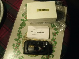 1#  In box  Camera ARGUS AF-75RE Point & Shoot  35mm Motorized  - $15.81