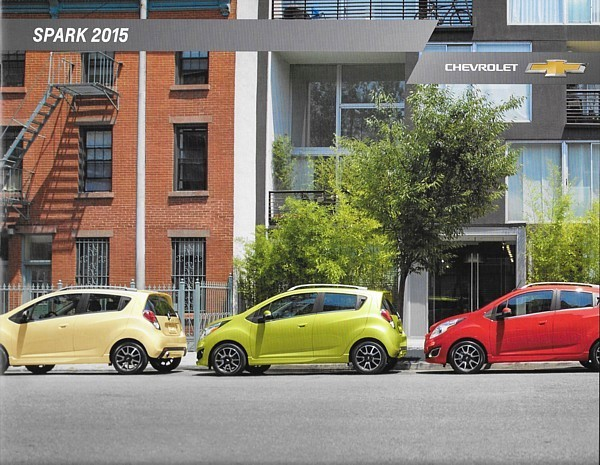 Primary image for 2015 Chevrolet SPARK brochure catalog US 15 Chevy LS LT