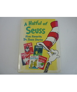 A HATFUL OF SUESS Dr. Seuss Five Favorite Stories Hardcover - $74.95