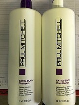 Paul Mitchell Extra Body Shampoo & Conditioner Liter DUO  - $35.63