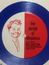 Vintage 1969 Paper Record: The Pledge of Allegiance/Red Skelton from Burger King image 5