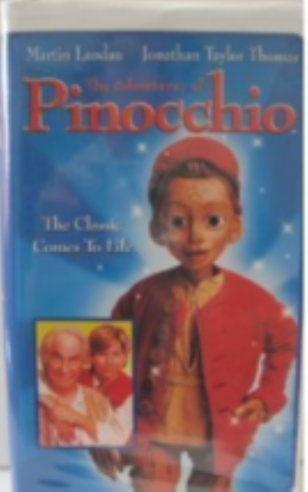 The Adventures of Pinocchio Vhs