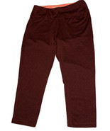 Marika Sport Capri Athletic Pants Womans Size S (4-6) Red Maroon Yoga St... - $14.99