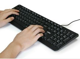 Cosy KB1388 Wired Korean English Keyboard USB Connection for PC image 3