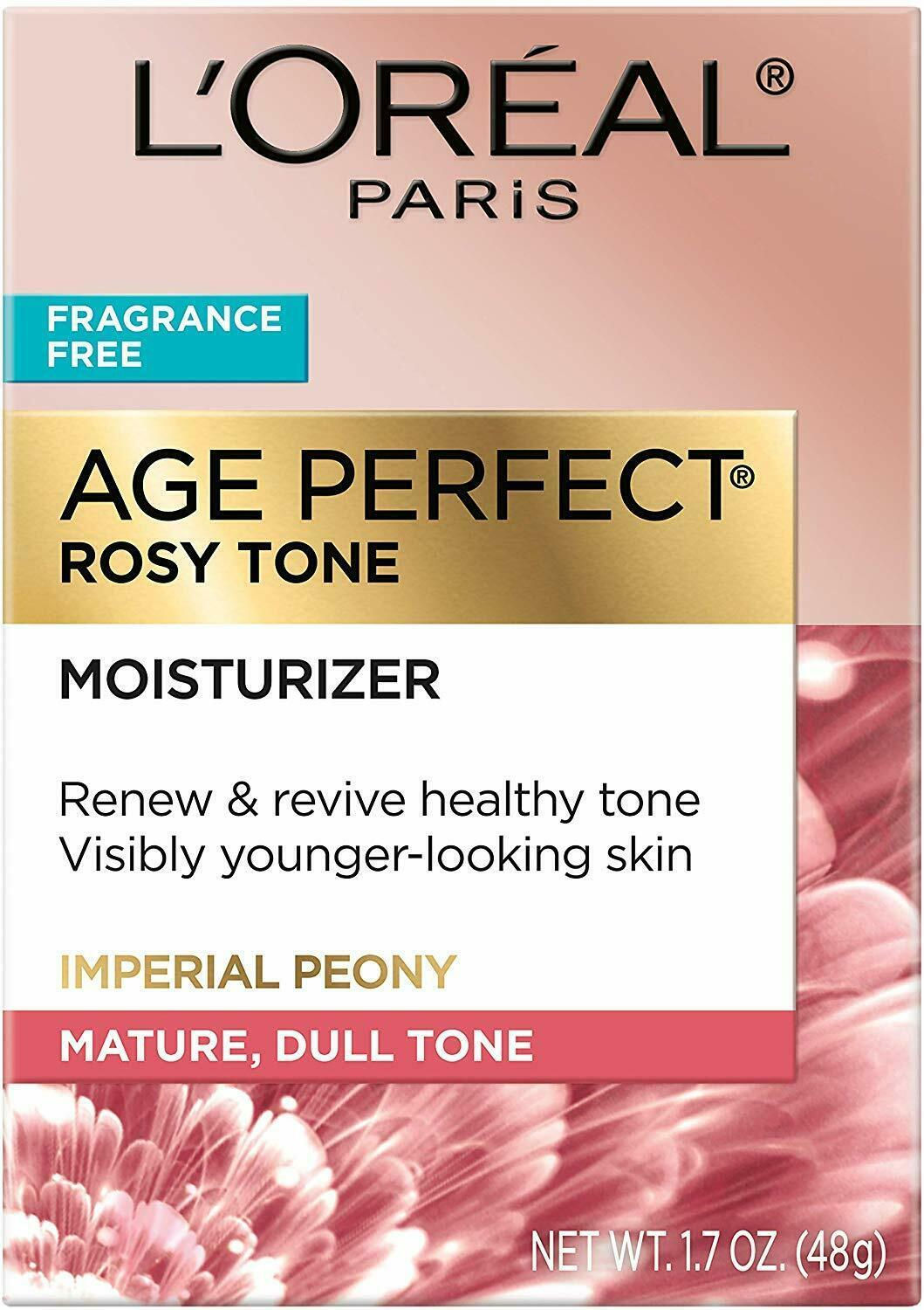 Primary image for L'Oreal Paris Skin Care, Age Perfect Rosy Tone Fragrance Free Moisturizer for Fa