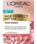 L'Oreal Paris Skin Care, Age Perfect Rosy Tone Fragrance Free Moisturize... - $16.82