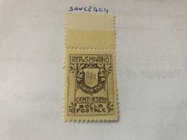 San Marino Bollo Postale 1c mnh 1907  #ab stamps - $9.95