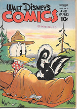 Walt Disney's Comics and Stories Comic Book #48, Dell Comics 1944 GOOD+ - $91.83