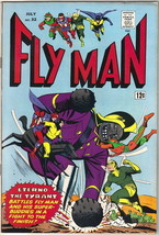 Fly Man Comic Book #32, Archie 1965 FINE+ - $26.04