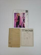 McCall's Pattern P205 Misses / Miss L-XXL Reversible Jacket & Coat 2003 ... - $25.00