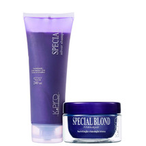 Kit KPro Special Silver Shampoo for Blond Hair + Mask - $109.99