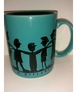 Hallmark collectible coffee mug - Together We Can Make a Difference - cu... - $22.76
