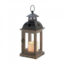 Small Monticello Lantern With Led Candle - $21.98