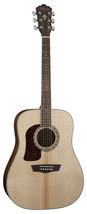 Washburn HD10SLH Left Hand Dreadnought Natural Gloss Acoustic Guitar - $286.11