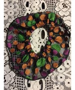 Pet Clothes Apparel Dog Scrunchies Size XS/Small Multi Color Circles 8 Inch - $5.18