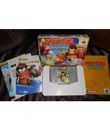 DIDDY KONG RACING NINTENDO 64 1997 RACING GAME COMPLETE TESTED & WORKS W... - $116.88