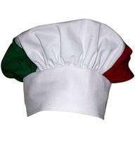 Italian Italy Design Mushroom Chef Hat Adjustable - $16.74
