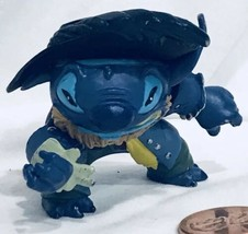 """2"""" Stitch as Captain Barbossa Action Figure Pirates Of The Caribbean Gif... - $17.81"""