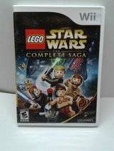 LEGO Star Wars: The Complete Saga (Wii, 2007), Original Case and Manual Tested! - $8.90