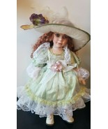 """Pretty Redhead - Vintage Cathay Collection 807-5000 21"""" tall Collectors ... - $9.79"""