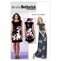 Butterick Patterns B5456 Misses'/Misses' Petite Dress, Size BB (8-10-12-14) - $14.70