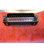 Atari ST / Mega / STE DB-25 pin Male Right Angle Board Mount (Replacement) - $8.95