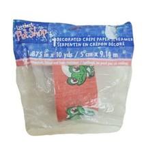 Littlest Pet Shop LPS Frog Crepe Paper Streamer 10 Yards 1.88 Inch Wide - $5.87