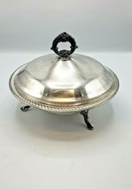FB Rogers 1883, Silver Plated Covered Dish with Pyrex Bowl - $44.55
