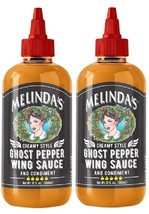 Melinda's Cream Style Ghost Pepper Wing Sauce 2 Bottle Pack - $22.72