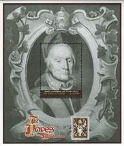 Pope Clement XI Sierra Leone Souvenir Sheet MNH