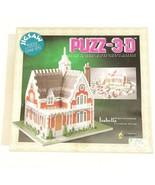 Vintage 90s Puzz-3D Victorian Home Isabella WREBBIT 233 Piece Jigsaw Puz... - $19.54