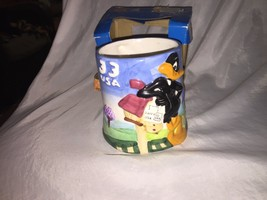 Looney Tunes Daffy Duck USA 33 Stamp Collection 16 oz Mug WB Collectible... - $15.15