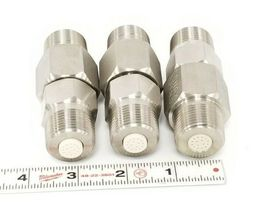 LOT OF 3 NEW CONAX BUFFALO 709047 LYOPHILIZER CONNECTORS 1/2'' IN ID 1'' IN. OD image 4