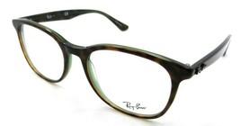 Ray-Ban Rx Eyeglasses Frames RB 5356 2383 54-19-145 Havana on Green Transparent - $91.92